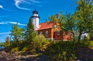 Eagle Harbor Lighthouse (HDR) [Spring 2015]