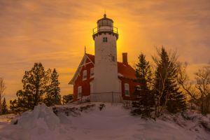 Eagle Harbor Lighthouse (Sunset)