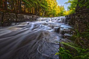 Quartzite Falls (HDR)