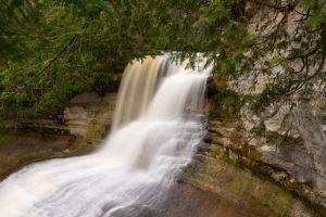 Laughing Whitefish Falls Plunge